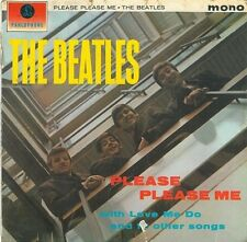 THE BEATLES Please Please Me LP Parlophone PMC 1202 1963 Decca Contract Pressing