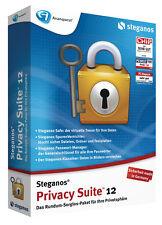 Steganos Intimité Suite 12 Protéger les données et Crypter de Steganos