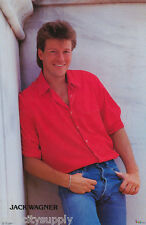 POSTER:MUSIC/TV ACTOR: JACK WAGNER - GENERAL HOSPITAL-FREE SHIP! #3088 RAP123 A