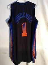 Adidas Swingman NBA Jersey NEW YORK Knicks Amare Stoudemire Black Vibe sz L
