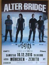 ALTER BRIDGE  2016 MÜNCHEN  - orig.Concert Poster -- Konzert Plakat  A1 NEU