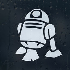 Star Wars R2 D2 Robot Droid Car Decal Vinyl Sticker For Window Bumper Panel