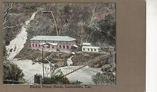 Postcard Australia Electric Power House Launceston Tasmania, unused lovely