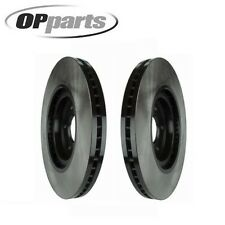Set of 2 Front Disc Brake Rotor Opparts 40524015 Fits Infiniti FX50 Nissan 370Z