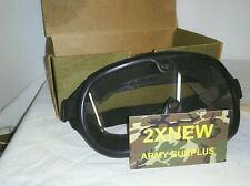 GOGGLES SUN, WIND AND DUST PAIR OF LENSES/ONE CLEAR/ONE NEUTRAL GRAY/