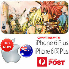iPhone6 PLUS 6S PLUS Silicone Case Cover Fairy Tail Natsu Dragneel Lucy Anime