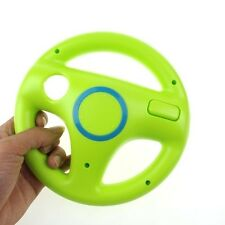 Generic Steering Wheel for Wii Mario Kart Racing Game Remote Controller Green