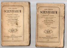 prima principia sciantiarum seu philosophia catholica - rmi michaele rosset -