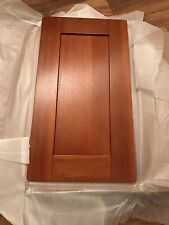 Cabinet Kitchen  400 mm   solid oak Door dark wood panel -cherry Shaker