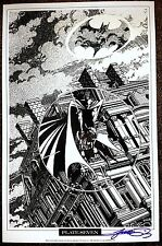 Batman Gotham Gargoyle Fine Art Print by George Perez  Signed by George Perez