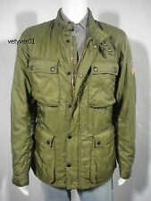 New RALPH LAUREN D&S Military Motorcycle Quilted Liner Jacket Green size XXL