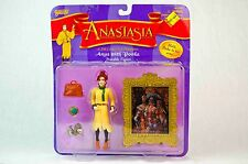 1997 Galoob 20th Century Fox Anastasia with Pooka Figure Set • MOSC
