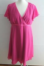 Apartes Abendkleid Kleid Chiffonkleid von Guido Maria Kretschmer rosa Gr.46
