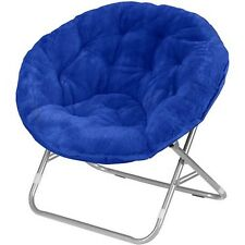 Mainstays Royal Spice Faux-Fur Saucer Chair New Free Shipping