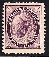 CANADA #68 MINT HINGED QUEEN VICTORIA ,CV$40.00 GM81
