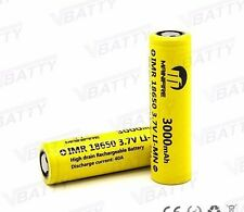 Mainifire IMR 18650 BATTERY HIGH DRAIN 3.7v 3000mAh 40A Flat, Free USA Shipping.