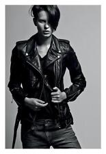 AS NEW worn once! R13 Womens Leather Jacket Classic Moto Biker- Size M - $2600