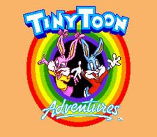Tiny Toon Buster's Hidden Treasure - Sega Genesis Game
