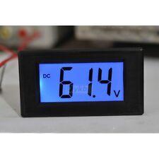 DC 16-70v LED Digital Volt Voltage Meter Voltmeter for 24v 36 48v e-bike bicycle