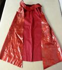RED CAPE *ONLY* for WONDER WOMAN SUPERHERO HALLOWEEN COSTUME ADULT WOMEN'S