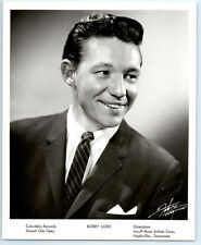 1950's BOBBY LORD Vintage FABRY NASHVILLE Publicity Photo COUNTRY MUSIC