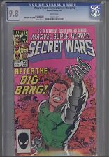 Secret Wars #12 CGC 9.8 1985 Marvel  Comic... Art Adams Art... Zeck Cover