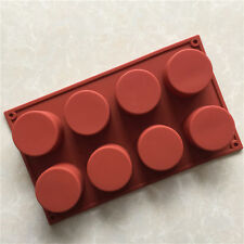 Bakeware Pans Cavity Round Mould Cylinder Circle Silicone Molds Muffin Cupcake