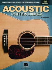 Hal leonard Acoustic Guitar Chords DVD HOW to Play Guitar Tips Education