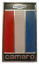 1975 1976 1977 Camaro Rear Trunk Emblem Assembly Red White Blue