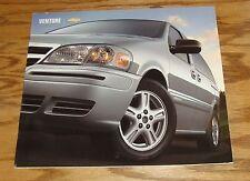 Original 2004 Chevrolet Venture Deluxe Sales Brochure 04 Chevy