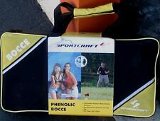 Sportcraft Phenolic Bocce Ball Game  - BRAND NEW IN BOX - BACKYARD or BEACH PLAY