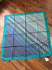 Missoni 100% silk square scarf, $200