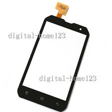 New Touch Screen Digitizer Glass Lens Part For Caterpillar Cat B15 Black