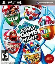 Hasbro Family Game Night 3 Sony PlayStation 3 PS3