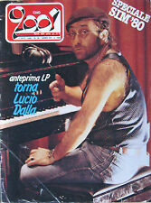 CIAO 2001 36 1980 Lucio Dalla Reo Speedwagon Steve Hackett Jimmy Cliff Makeba