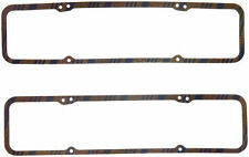 """FEL-PRO VALVE COVER GASKETS P/N#1603 7/32""""THK BLUE CORK-RUBBER CHEVY SBC ENGINE"""