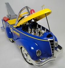1940s Ford Vintage Truck Pedal Car Pickup Yellow Trim Midget Metal Show Model