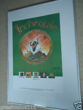 INCHEQUIN CELTIC ROCK GIG CONCERT POSTER ON THE ROCKY ROAD MINT 2002 RARE GEM !!