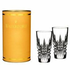 Waterford Crystal Giftology Lismore Diamond Shot Glass, Pair, New, Free Shipping