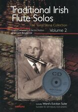 Traditional Irish Flute Solos Play Vincent Broderick Celtic Tunes Music Book 2