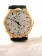 BL11 NEW Da Vinci by Lucien Piccard Gold Dress Leather Band WATCH  Unisex