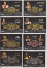 2014 Topps WWE Chrome CODY RHODES Intercontinental CHAMPIONSHIP PLATE Card