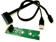 Sintech SATA SSD/HDD to M.2(NGFF) B-M Key card with USB power SATA cable