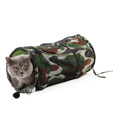 Pet Cat Tunnel ToysTube Tunnel Camouflage Collapsible Bulk Cat Toy Play Tunnels