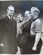 WOLVES v LEICESTER 1949 F.A CUP FINAL PRESS PHOTOGRAPH