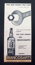 F410 - Advertising Pubblicità - 1963 - BIANCOSARTI APERITIVO ESUBERANTE