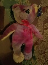 """THE ROYAL COLLECTION PLUSH Beanie 7""""Year 2000 multi-colored Bear"""