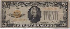Series 1928 $20 Twenty Dollars Gold Certificate Note