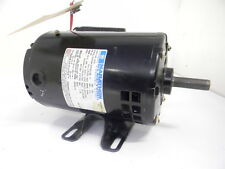 LIGHT USED MARATHON SINGLE PHASE ELECTRIC MOTOR 1/2 HP 115/230 VOLTS