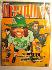 DEADLINE MAGAZINE UK #43 (NM/9.2/August 1992) Silverfish, Fatima Mansions